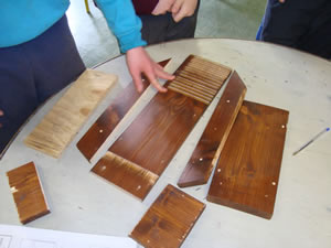 Primary School Woodwork - Bat Box
